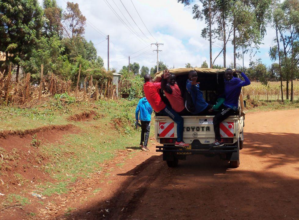 Maraton w Kenii.