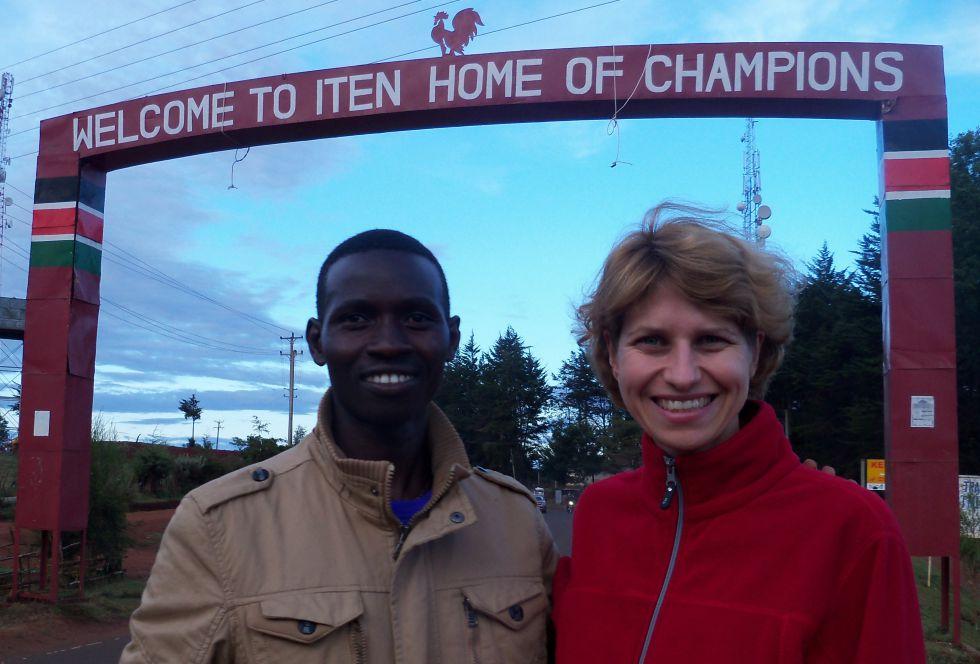 Maraton w Kenii. Iten
