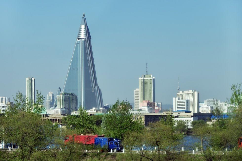 Zwiedzanie Pyongyang - stolicy Korei Północnej.