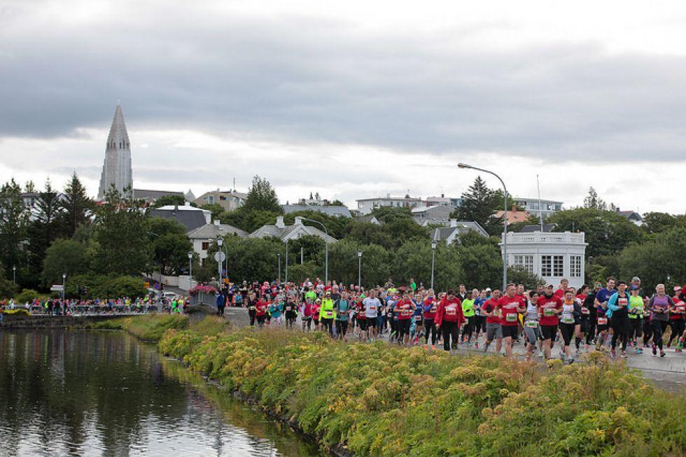 Maraton na Islandii