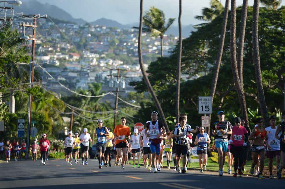Maraton Honolulu i zwiedzanie