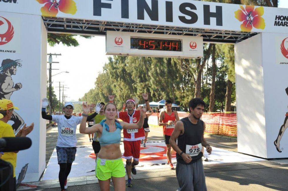 Maraton na Hawajac i zwiedzanie