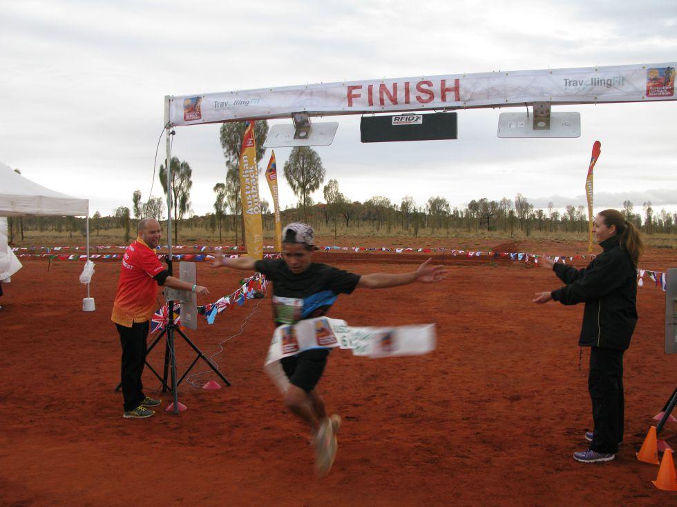 Maraton w Australii - Uluru