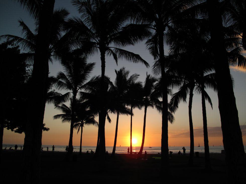 Maraton na Hawajach i zwiedzanie