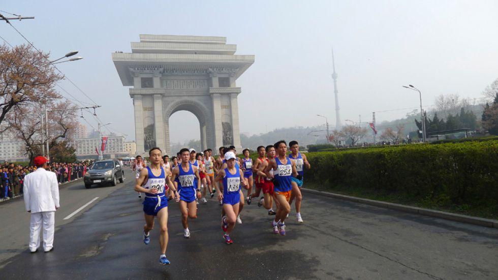 Maraton Korea Północna, zwiedzanie