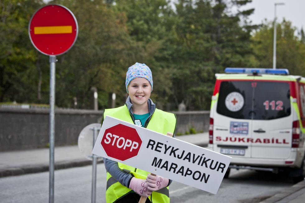 Maraton w Islandii Reykjavik
