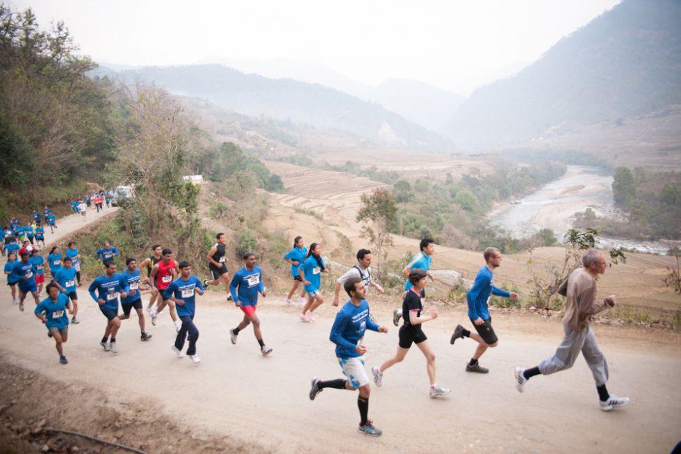 Maraton w Bhutanie, imprezy towarzyszące.
