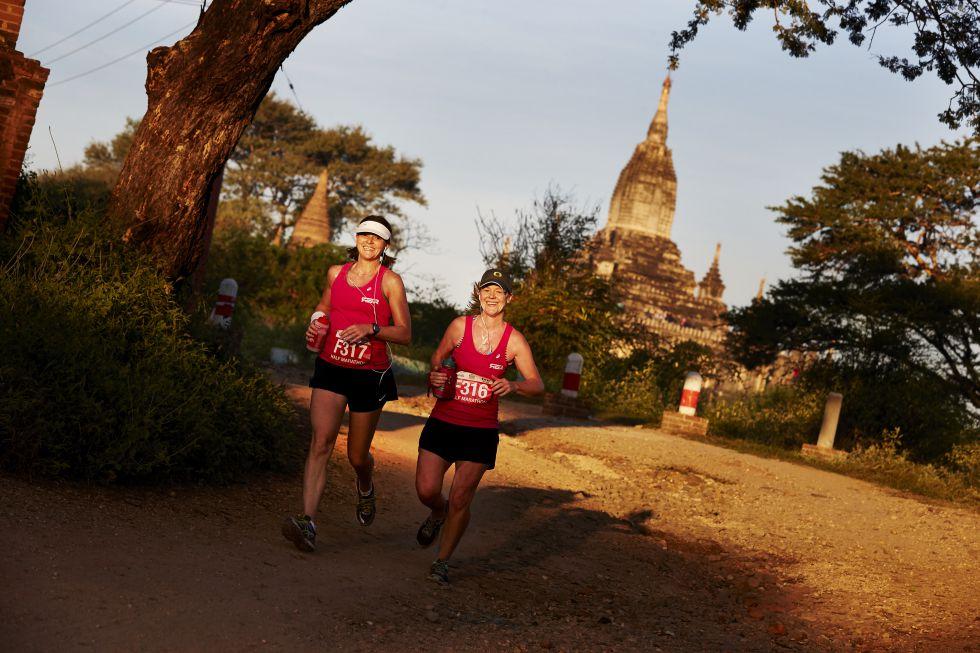 Maraton w Birmie