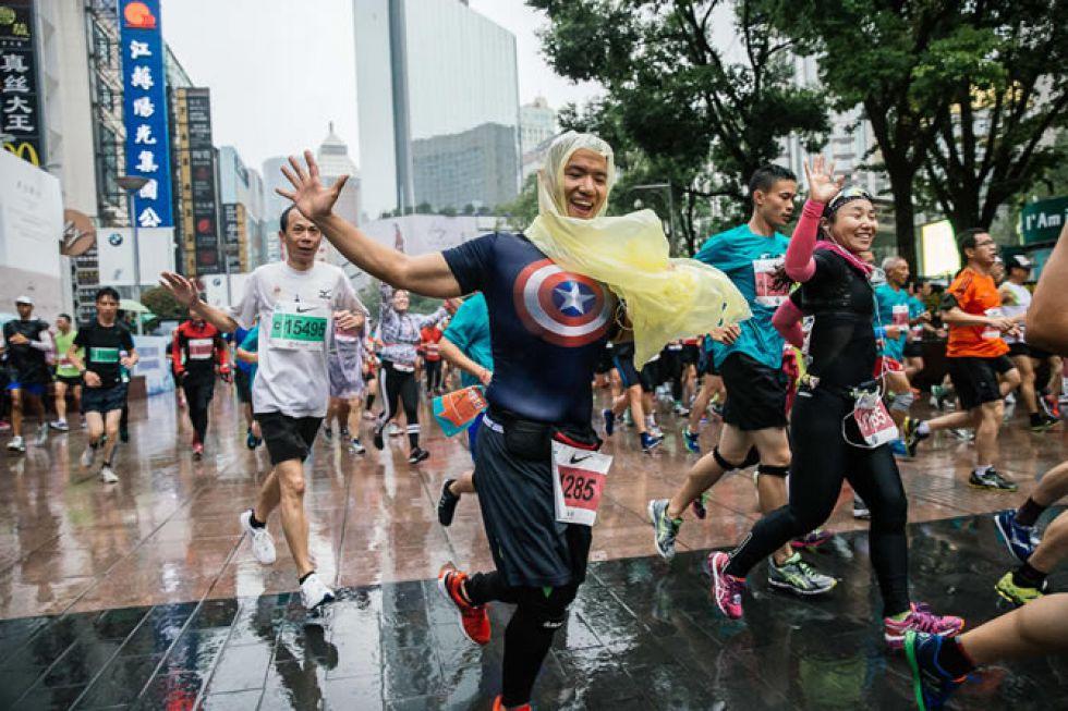 Maraton w Szanghaju