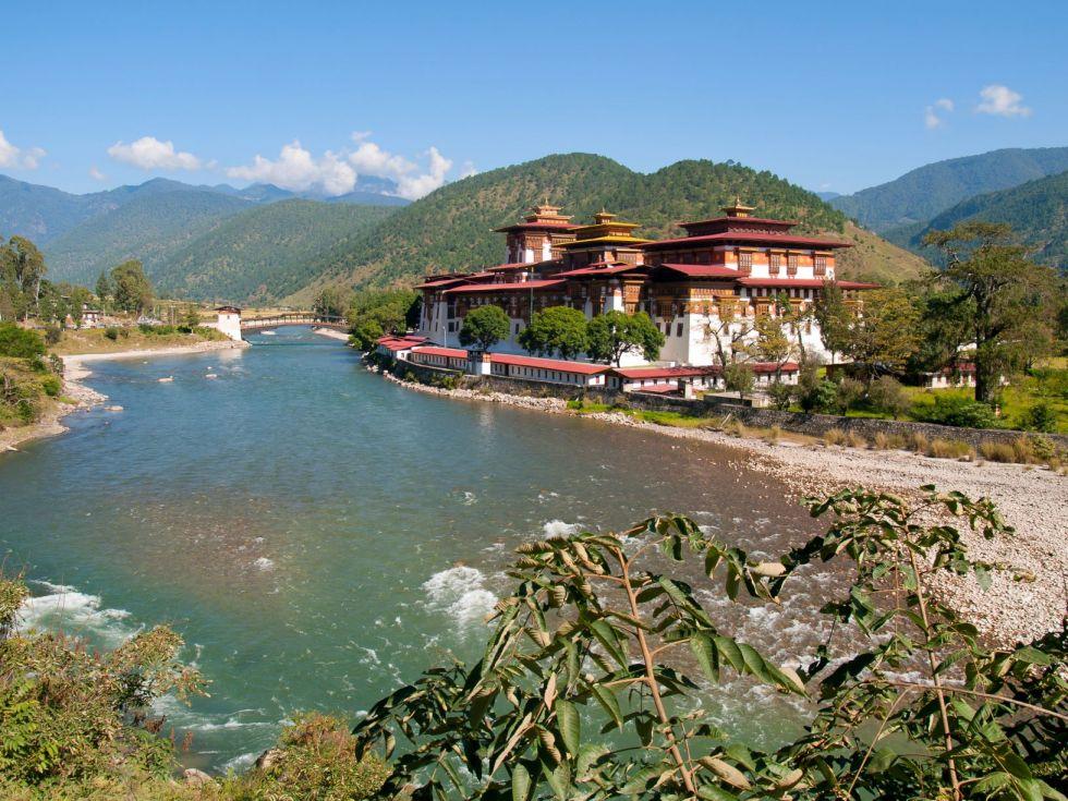 Wyprawa Bhutan, Nepal, Tybet. Punakha Dzong, Bhutan.