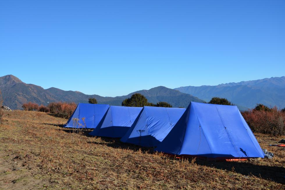 Wycieczka trekking w Bhutanie