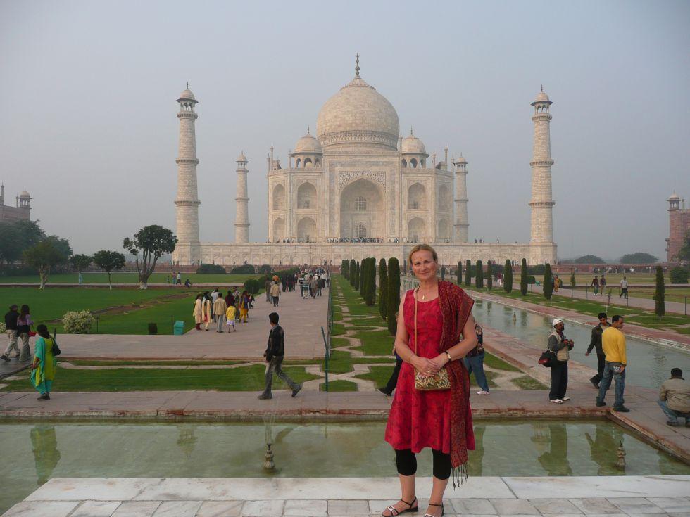 Tadż Mahal w Agrze, wycieczka do Indii.