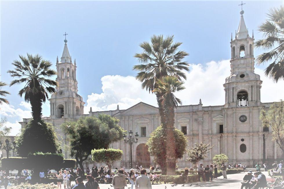 Zwiedzanie białego miasta Arequipa