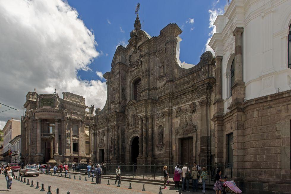 zwiedzanie Quito w Ekwadorz