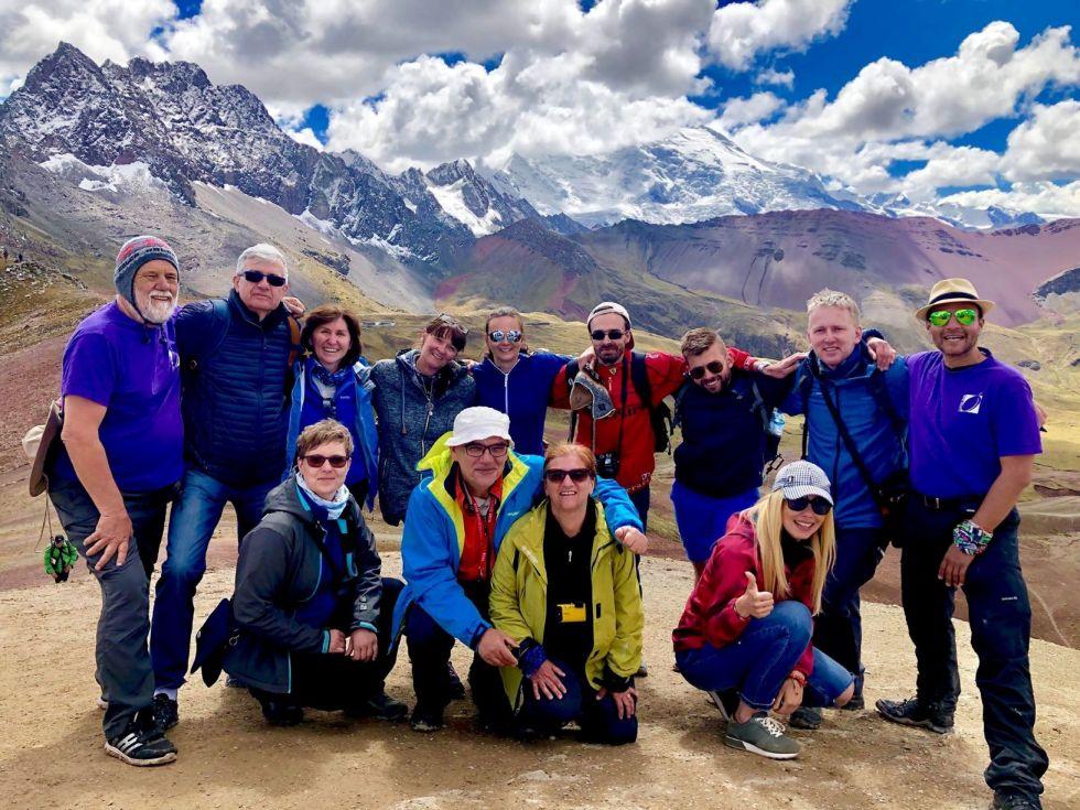 Peru - Góry Tęczowe