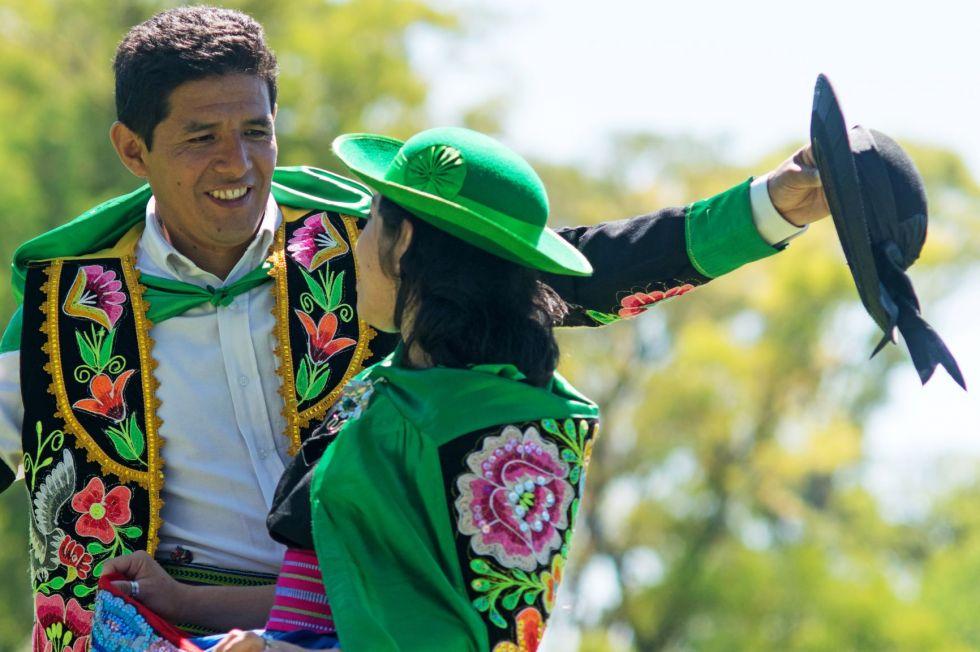 Kolacja z folklorem podczas wyprawy peru - boliwia