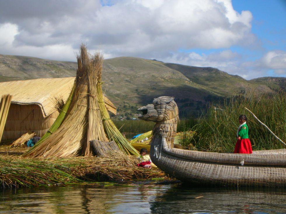 Jezioro Titicaca Peru
