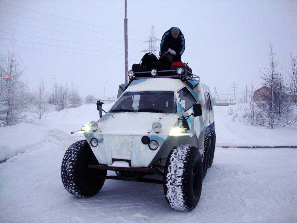 Wyprawa, Ural polarny, Workuta, Syberia