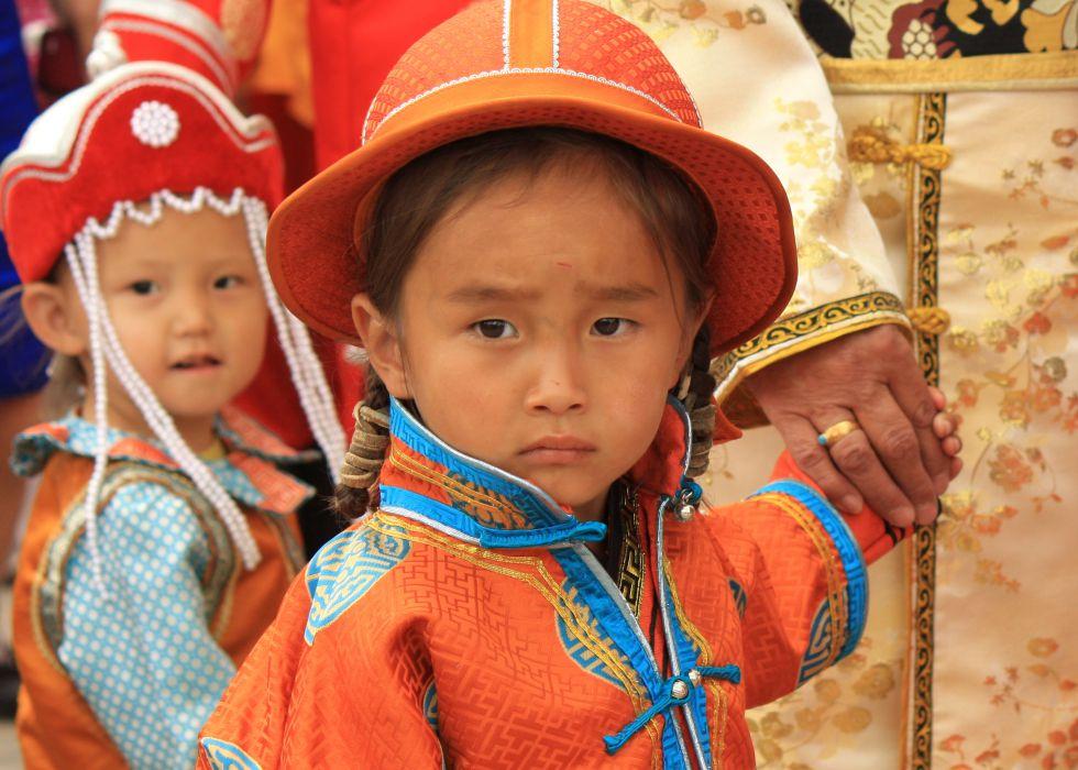 Mongolia - dzieci