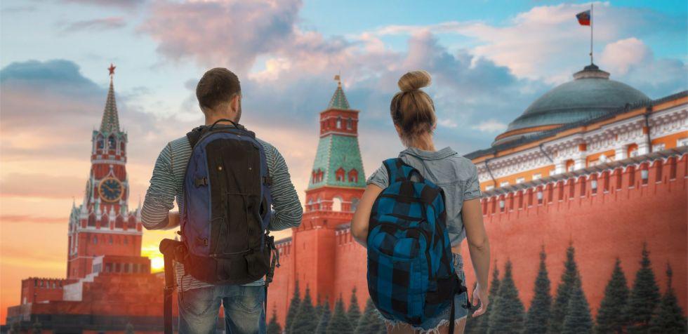 Zwiedzanie Moskwy podczas objazdu Rosja: Wołgograd - Kazań - Moskwa - Petersburg.