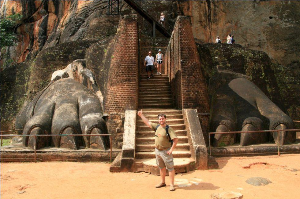 Sigiri - Lwia Skała. Wycieczka na Sri Lankę