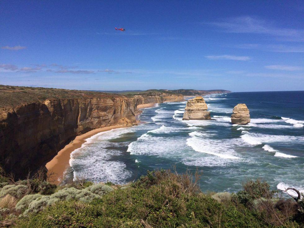 Wycieczka do Australii, najpiękniejsze klify 12 Apostołów.