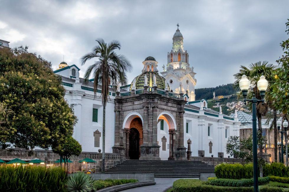 zwiedzanie stolicy Ekwadoru - Quito