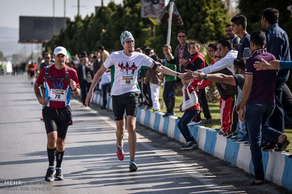 Maraton w Iranie to wielka nowość w tym ortodoksyjnym kraju