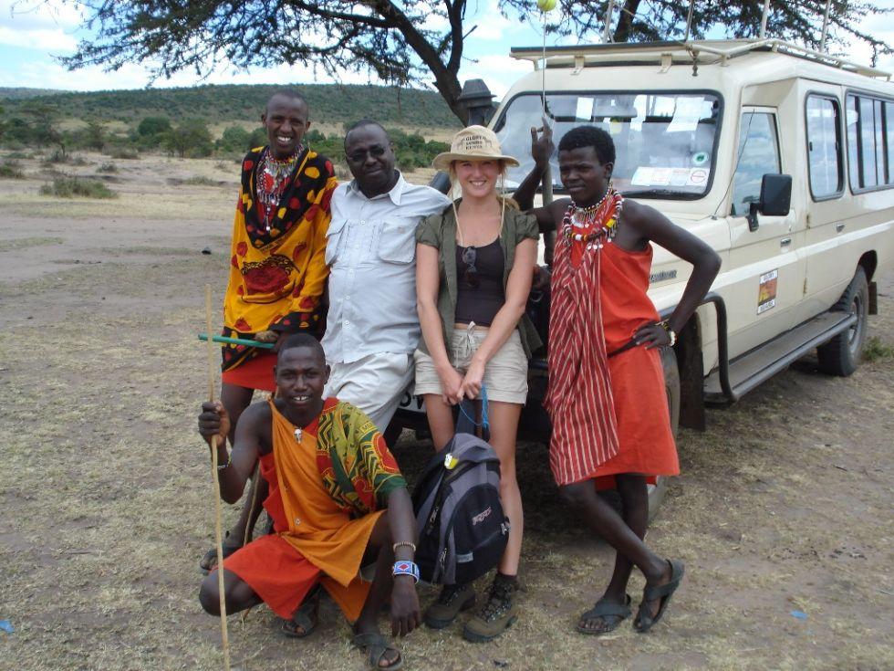 safari samochodami terenowymi, Kenia, Afryka