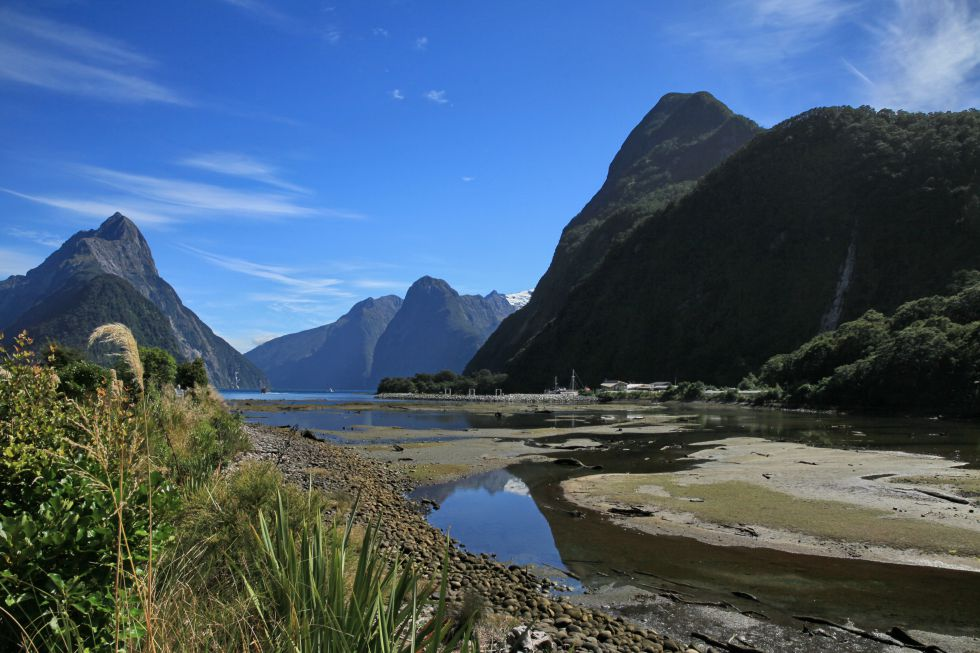 Wyprawa do Nowej Zelandii na wyspę południową, zwiedzanie słynnego fiordu Milford.