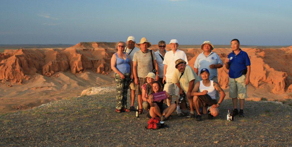 Wycieczka Rosja Mongolia Chin - pustynia Gobi