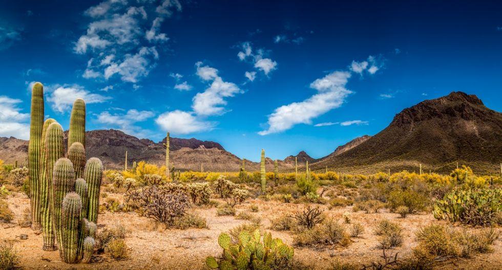 Przejazd przez Arizone w USA