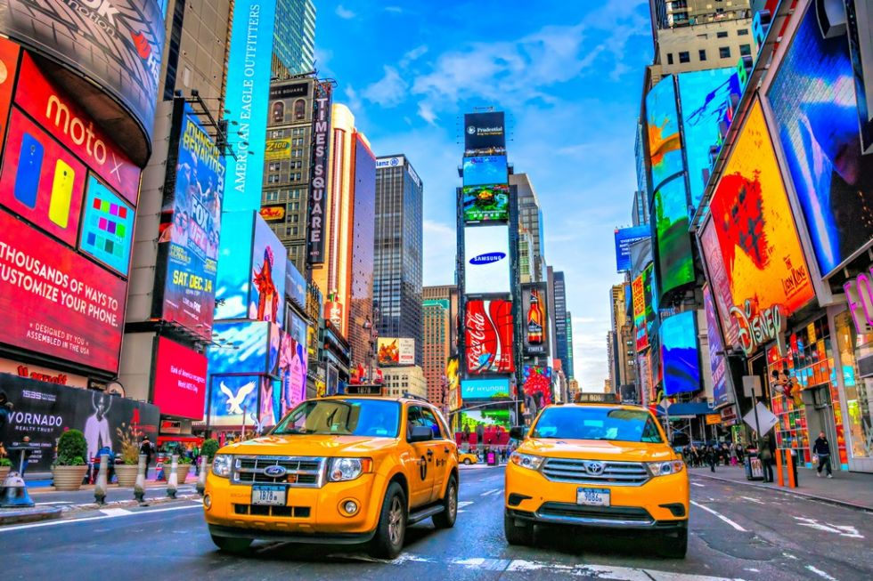 time square, nowy jork