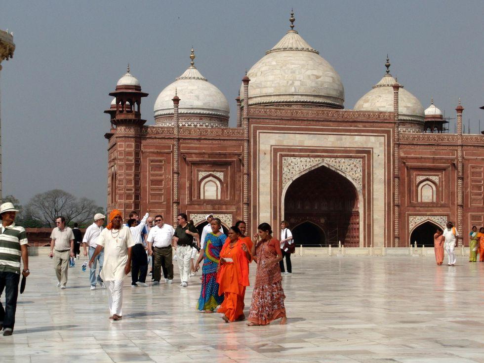 Wycieczka do Indii, zwiedzanie Fatehpur Sikri.