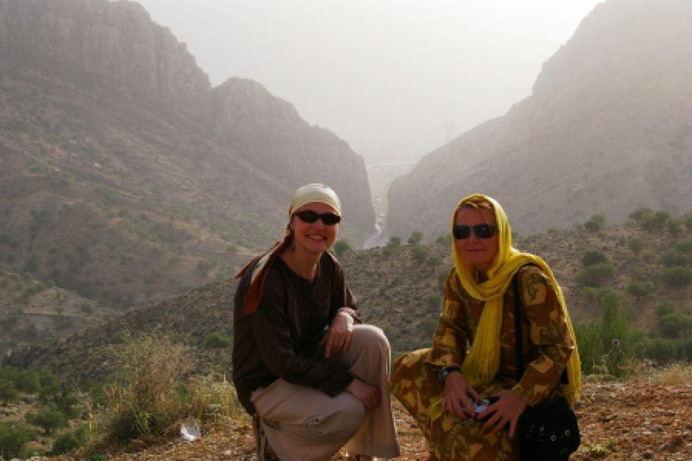 Abu'l-Hayat. Wycieczka w Iranie.