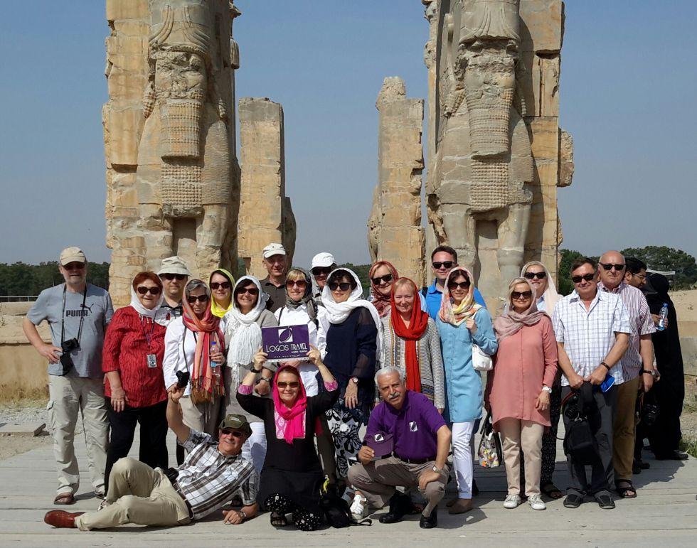 Perspepolis w Szirazie, wycieczka do Iranu.