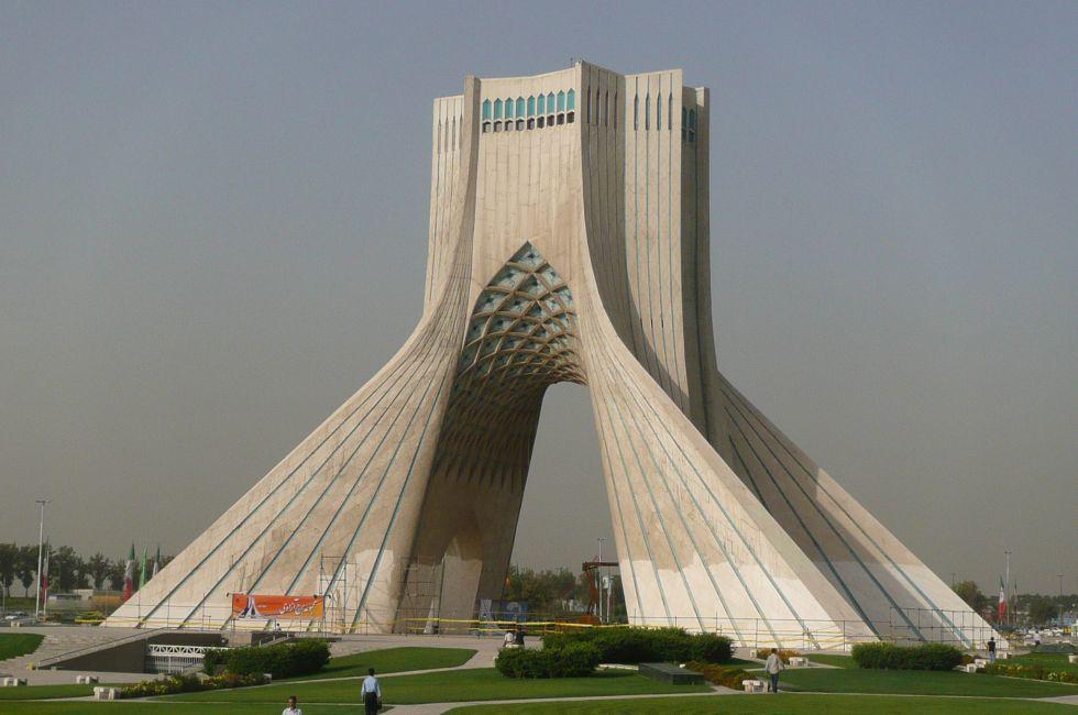 Pozdróż do Iranu. Zwiedzanie Teheranu.